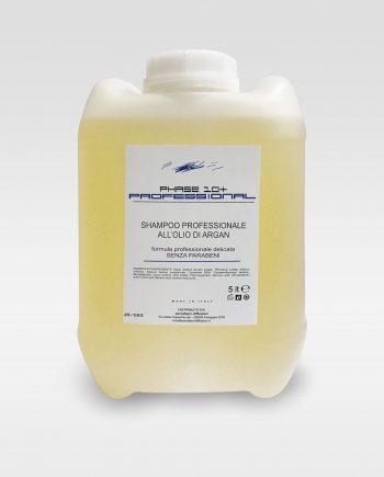 Professional shampoo professionale all'olio di argan senza parabeni